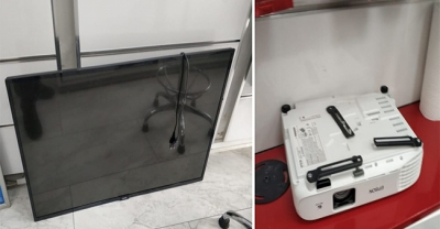 Dernekten Elektronik Eşya Çalan 2 Şüpheli Yakalandı