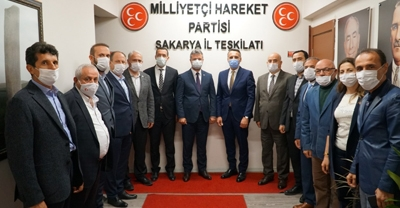 AK Parti Sakarya İl Başkanı Tever'den Ziyaret