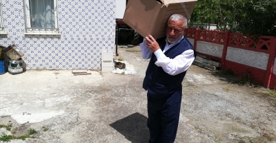25 yıldır ramazan kumanyası dağıtıyor