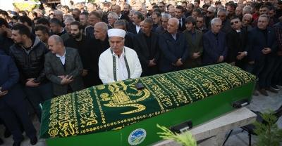 Oğuz Çetin'in vefat eden babası Nihat Çetin, Sakarya'da defnedildi