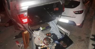 Akyazı'da zincirleme trafik kazası: 5 yaralı