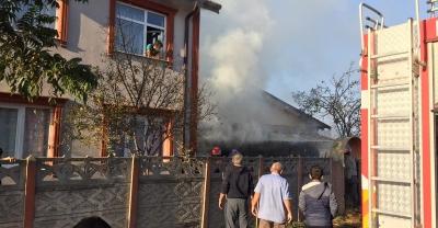 Karapürçek'te samanlık yangını
