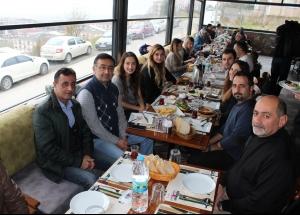 Sakarya'daki Makine Mühendisleri Odası üyeleri kahvaltıda buluştu