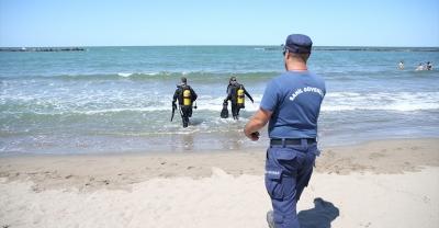Sakarya'da denize giren gencin kaybolması