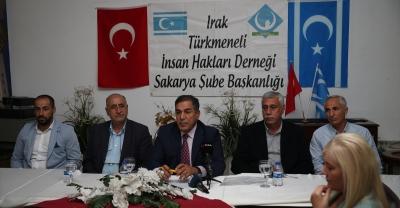 Iraklı Türkmenlerden Barış Pınarı Harekatı'na destek
