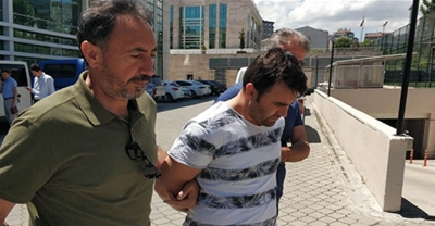 Adliye çıkışı kaçmaya çalışan hükümlü yakalandı