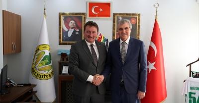 Başkan Yüce'den Ferizli'ye ziyaret