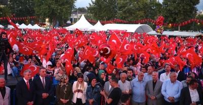 Sakarya'da, 15 Temmuz Demokrasi ve Milli Birlik Günü