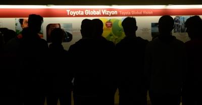 Ağrı, Van ve Hakkari'den gelen öğrenciler Toyota Türkiye'yi ziyaret etti