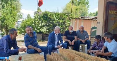 STB Başkanı Adem Sarı, üyelerini yalnız bırakmıyor...