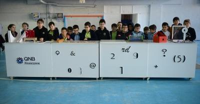 QNB Finansbank Tales Matematik Müzesi Tırı çocuklarla buluştu