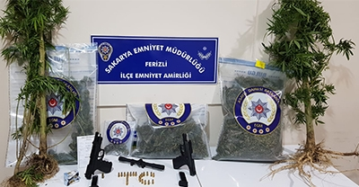 Sakarya'daki uyuşturucu operasyonunda 2 şüpheli gözaltına alındı