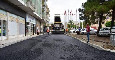 """""""Kültür Caddesi ve 620. Sokakta Asfalt Çalışmaları Başladı"""""""