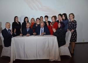 """Sesob ve İşkur İşbirliğinde """"Kadından Kadına"""" İstihdam Destek Projesi İmzalandı"""
