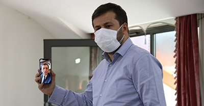 Bakan Selçuk Sakarya'daki Yapay Zeka Çalıştayına Görüntülü Bağlandı