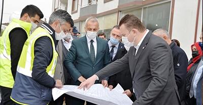 MHP Grup Başkanvekili Bülbül, Hendek İlçesindeki Hizmetleri İnceledi