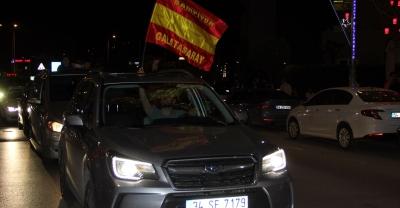 Galatasaray'ın şampiyonluk kutlamaları