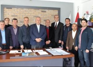 Söğütlü Belediye Başkanı Özten'e ziyaret