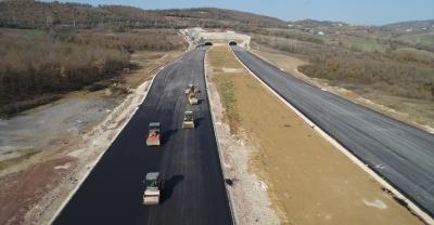 Kuzey Marmara Otoyol Projesi'nde sona yaklaşıldı