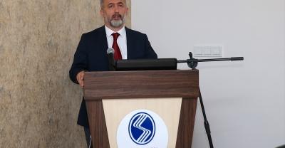 SAÜ Rektörü Prof. Dr. Savaşan, basınla buluştu