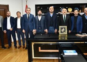 TÜMSİAD Doğu Marmara Kalkınma Ajansını Ziyaret Etti