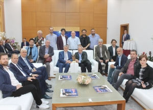 Sakarya Büyükşehir Belediye Başkanı Yüce'ye ziyaret