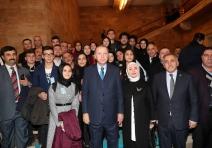15 Temmuz  Milli İrade Derneği BBaşkan Erdoğan'la  Bir Araya Geldi