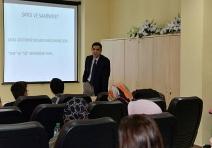 SAÜ'de Etkili İletişim ve Diksiyon Eğitimi Düzenlendi