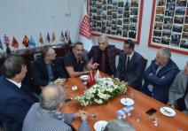 Samsuspor Kulüp Başkanı Rumeli Balkan Derneği'nde