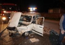 Sakarya'da trafik kazası: 4 yaralı