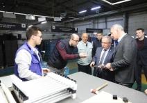 Vali Nayir'den fabrika ziyareti