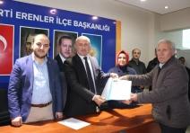 Resul Erdoğan Yılmaz; Erenler Belediye Başkanlığı için ilçe başkanlığından istifa etti...